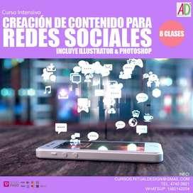 Curso Intensivo Creación de Contenido para Redes Sociales