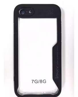 Estuche protector para iphone 7G y 8G disponibles en rojo, negro, rosa, azul