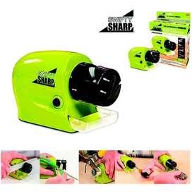 Afilador De Cuchillos Multifuncional Swifty Sharp Verde