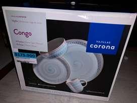 Vajilla corona