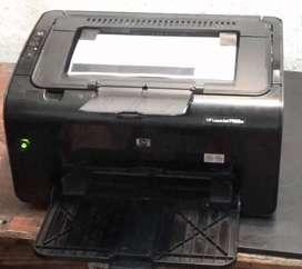 VENDO IMPRESORA LASER MONOCROMATICA HP P1102W