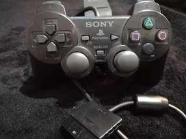 Control alambrico para Playstation 2