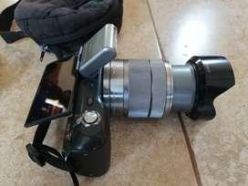 Camara Sony Semiprofesional Modelo Nex 3