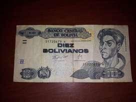 billete y monedas de coleccion