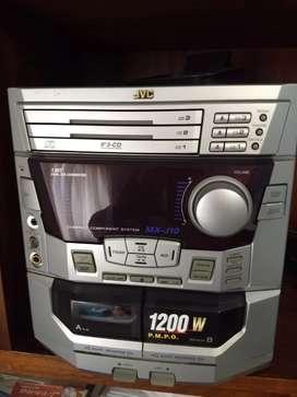 Sistema Estéreo Minicomponente JVC
