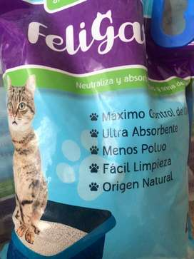 32 kilos de arena para gato