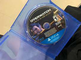 Vendo juego de ps4 overwhats