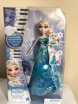 Elsa Canta una melodía- Frozen Hasbro