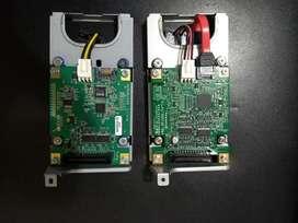 Dos Bases de Disco Duro Impresoras Ricoh