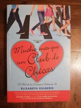 Mucho más que un club de chicas Libro original