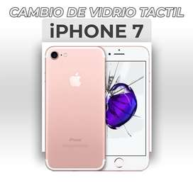 ¡Cambio de Vidrio Táctil Iphone 7!
