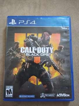 Vendo juego de ps4 Call of Duty IIII