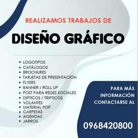 Se realizan trabajos de DISEÑO GRÁFICO / REDACCIÓN