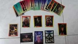 Cartas tarjetas de rock