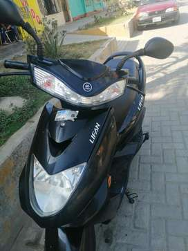 moto lifan automática,muy poco recorrido (2200 km)