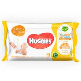 Toallitas húmedas Huggies Clasicas x 48 unidades