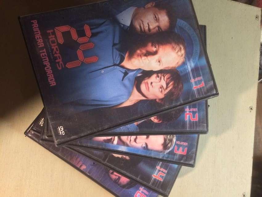 Serie 24 Temporada 1 5 DVDS falta el disco 5 impecable! 0