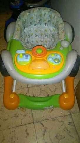 Hermoso andador para bebé excelente estado 100% funcional