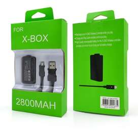 Kit Carga Y Juega Control Xbox One Pila Bateria