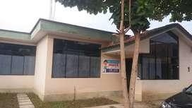 Venta de casa con cerco perimétrico en Satipo