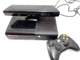 Xbox 360, con kinect y pelicula de horizon