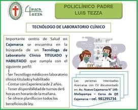 Tecnologo Médico de Laboratorio