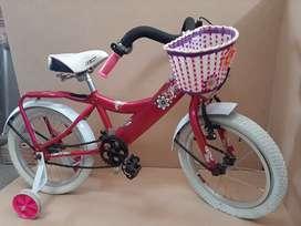 bicicleta nueva para niña
