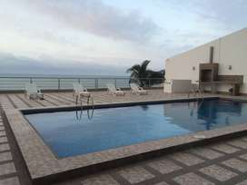 Alquiler departamento en Manta frente al mar cerca del hotel oro verde