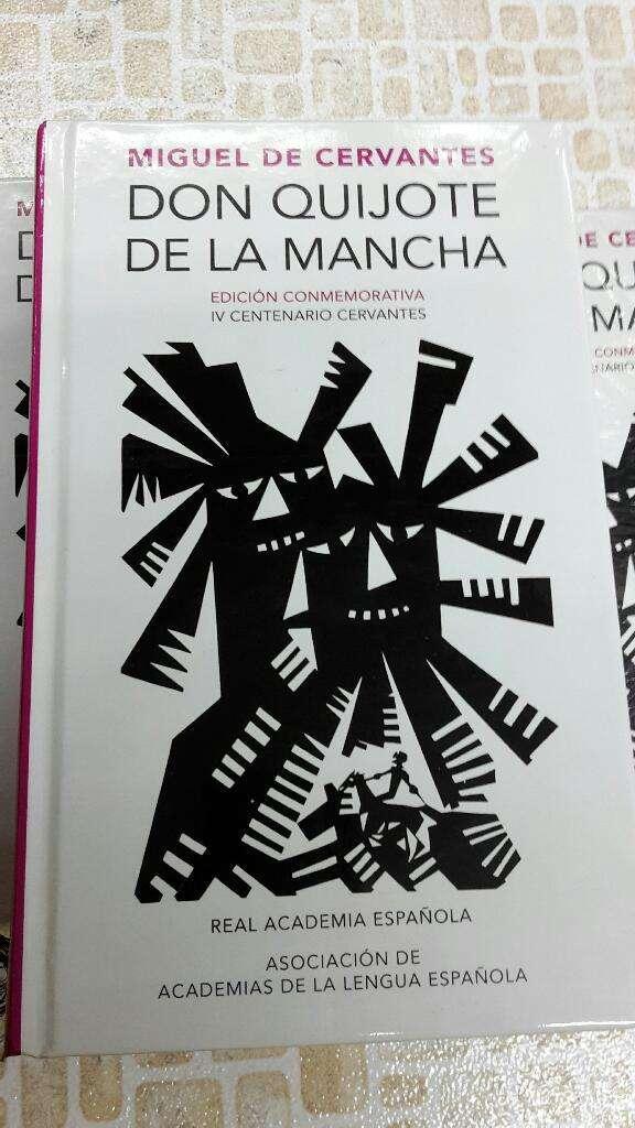 Don Quijote de La Mancha Edición Conmemorativa IV Centenario Cervantes Alfaguara Real Academia Española 0