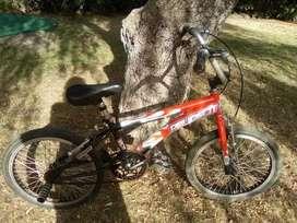 bicicleta de salto
