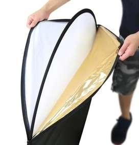 Flex Reflector de luz 5 en 1 con estuche para fotografía
