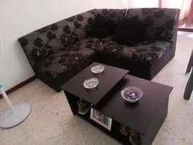 Sala y mesa de centro