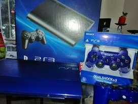 Ps3 Super Slim Azul edición Especial