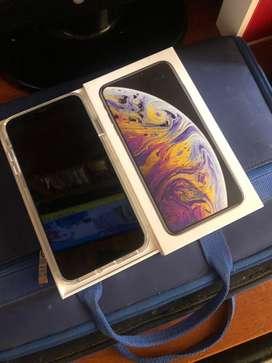 Ganga Iphone XS blanco max 256 gb