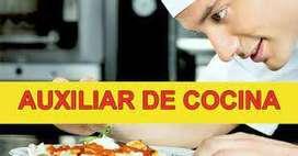 Auxiliar de cocina para restaurante oriental, sushi, wok, etc.
