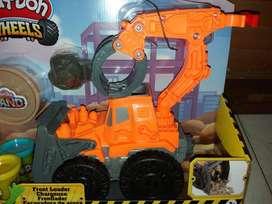 excavadora de arena play doh wheels - Nueva!