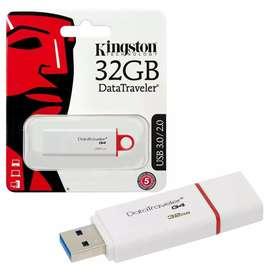 Memorias USB 32gb kingston