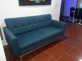 Vendo Hermoso Sofa de 3 Puestos