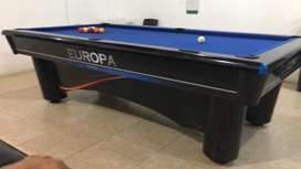 Mesa de billar pool europa