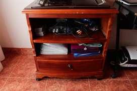 mesa televisor madera
