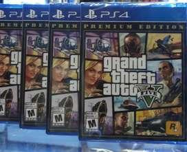 GTA V PS4 NUEVO SELLADO