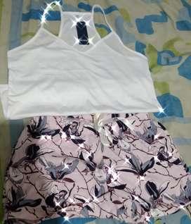 Pijama para dama talla (M) marca LEONISA