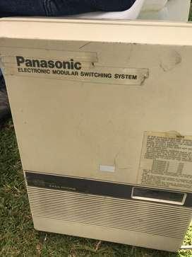 Central telefónica Panasonic 12 extenciones