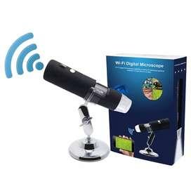 Microscopio Digital 1000x 8 Led Rs.1920x1080p inalambrico