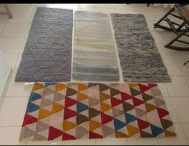 tapetes nuevos de remate