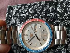 Reloj Seiko 5 automatico sports Pepsi coleccionable