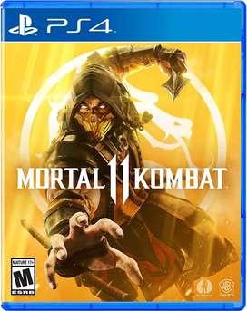 Mortal Kombat 11 Ps4 Nuevo Fisico Español Latino
