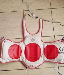 Peto Protector Tronco Taekwondo Talla S