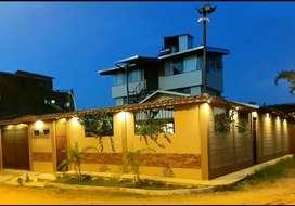Propiedad con negocios implementados hotel y restobar, todo nuevo, en la mejor ubicacion de Puerto Maldonadoaldonado
