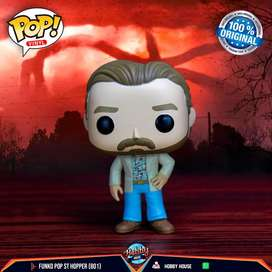 Funko Pop Hopper (801) - Stranger Things